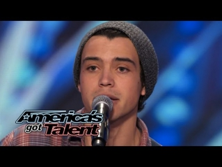 Miguel Dakota: Audience Swoons Over Singer's Alex Clare Cover - America's Got Talent 2014